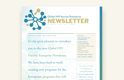 Global HIV Vaccine Enterprise Newsletter