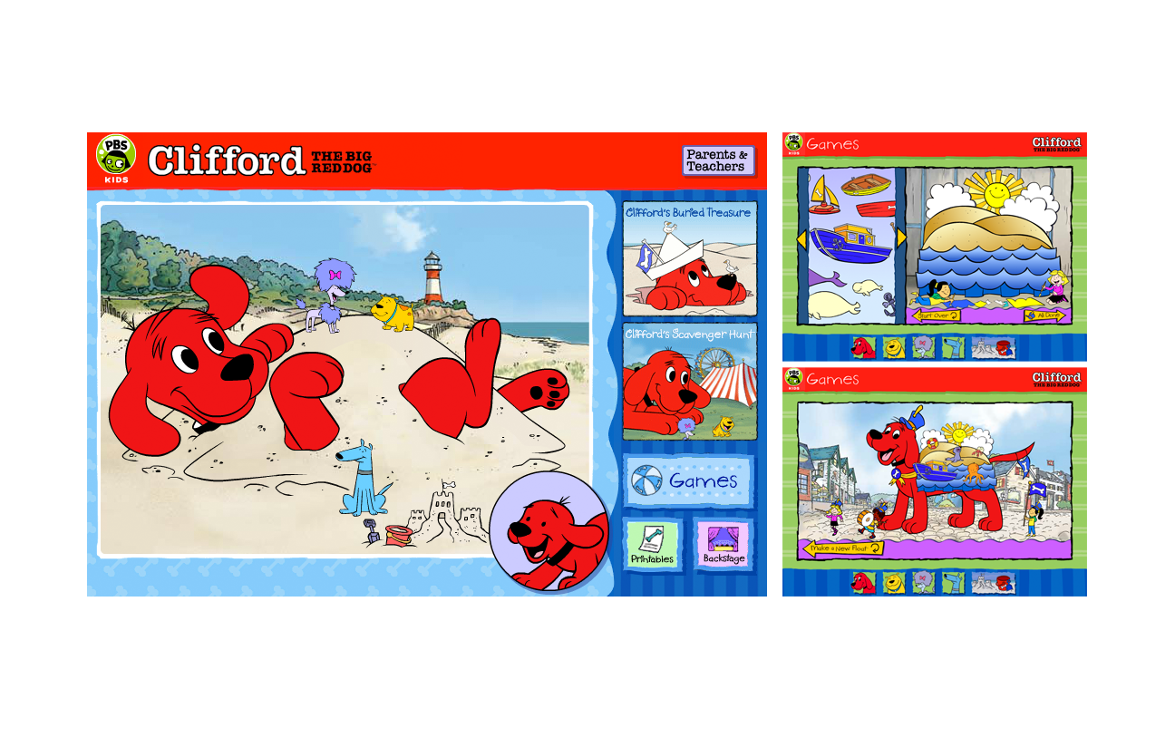 Clifford The Big Red Dog Pbs
