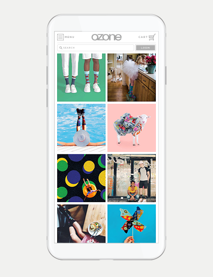 Consumer Fashion Brand Ecommerce Website